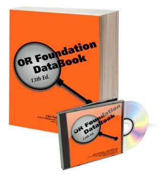 Oregon Foundation Databook & Software 13th Edition
